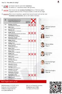 How To: Wie wähle ich richtig? Kommunalwahl Seligenstadt