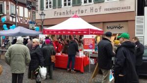 Infostand Seligenstadt